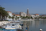 Waterfront, Harbour and Cathedral, Split, Croatia, Europe Photographic Print by John Miller
