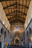 Interior of Santa Maria Maggiore Church, Tuscania, Viterbo Province, Latium, Italy, Europe Photographic Print by Nico Tondini