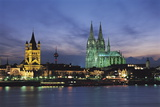 Cologne Skyline, Germany Photographic Print by Gavin Hellier