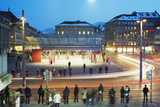 Bern Train Station, Bern, Switzerland, Europe Photographic Print by Christian Kober