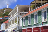 Republic Street in Gustavia Photographic Print by Richard Cummins