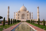 The Taj Mahal, UNESCO World Heritage Site, Agra, Uttar Pradesh, India, Asia Reproduction photographique par Gavin Hellier