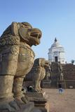 Fasidega Temple, Durbar Square, Bhaktapur Lámina fotográfica por Ian Trower