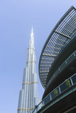 Burj Khalifa and Dubai Mall, Dubai, United Arab Emirates, Middle East Photographic Print by Amanda Hall