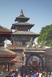 Durbar Square, UNESCO World Heritage Site, Kathmandu, Nepal, Asia Photographie par Ian Trower