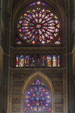 Cathedral West Windows, Rheims, UNESCO World Heritage Site, Marne, France, Europe Photographic Print by Rolf Richardson