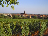 Bergheim, Alsace, France Photographic Print by John Miller