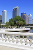 Tampa Skyline and Linear Park, Tampa, Florida, United States of America, North America Photographic Print by Richard Cummins