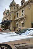 Exotic Sports Car Outside Casino De Monte-Carlo, Monaco, Europe Photographic Print by Amanda Hall