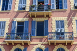 Old Town Architecture, Nice, Alpes Maritimes, Provence, Cote D'Azur, French Riviera, France, Europe Photographic Print by Amanda Hall