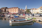 Old Town and the Harbour with Fishing Boats, Izola, Primorska, Istria, Slovenia, Europe Photographic Print by Markus Lange