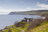 Robin Hood's Bay on the North York Moors Coastline, Yorkshire, England, United Kingdom, Europe Photographic Print by Julian Elliott