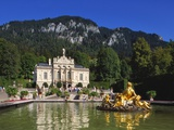 Linderhof Castle, Bavaria, Germany Photographic Print by Peter Scholey