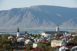 City View, Reykjavik, Iceland, Polar Regions Photographic Print by Christian Kober
