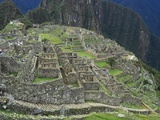 Ancient Incan Ruins of Machu Picchu, Peru Photographic Print by Sybil Sassoon