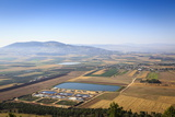 A View over Jezreel Valley from Mount Precipice, Nazareth, Galilee Region, Israel, Middle East Photographic Print by Yadid Levy