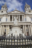 View of St. Paul's Cathedral, London, England, United Kingdom, Europe Photographic Print by Frank Fell