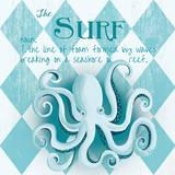 The Surf Poster af Andi Metz