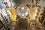 Interior of San Pietro in Banchi Church, Genoa, Liguria, Italy, Europe Photographic Print by Mark Sunderland