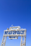 Beau Rivage Beach Sign Photographic Print by Amanda Hall