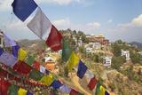 Thrangu Tashi Yangtse Monastery Inside Namobuddha Complex, Dhulikhel, Kathmandu Valley, Nepal, Asia Photographic Print by Ian Trower