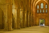 The Nave of Fontenay Abbey, UNESCO World Heritage Site, Cote D'Or, Burgundy, France, Europe Photographic Print by Julian Elliott