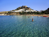 Lindos, Rhodes, Greece, Europe Photographic Print by Fraser Hall