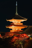 Kiyomizu-Dera Temple Photographic Print by Gavin Hellier