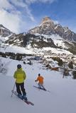 Corvara Village in the Sella Ronda Ski Area Photographie par Gavin Hellier