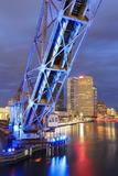 Cass Street Bridge over the Hillsborough River Photographic Print by Richard Cummins