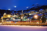 St. Moritz, Graubunden, Swiss Alps, Switzerland, Europe Photographic Print by Christian Kober