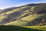 Glottertal Valley in Autumn, Black Forest, Baden Wurttemberg, Germany, Europe Photographic Print by Markus Lange