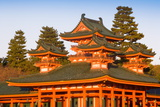 Impressive Shrine Complex of Heian-Jingu (Shrine) Photographic Print by Gavin Hellier