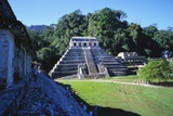 Temple of Inscriptions, Palenque Ruins, Chiapas, Mexico Photographic Print by Rob Cousins