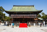Temple in the Maruyama-Koen Park, Kyoto, Japan, Asia Photographic Print by Michael Runkel