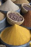Spices in the Souk, Marrakech, Morocco, North Africa, Africa Fotografisk tryk af Stuart Black