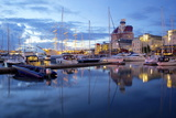 School Ship in Harbour at Dusk, Gothenburg, Sweden, Scandinavia, Europe Photographic Print by Frank Fell