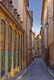 A Narrow Backstreet in Aix-En-Provence, Bouches-Du-Rhone, Provence, France, Europe Photographic Print by Julian Elliott