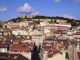 Cityscape of Lisbon and Castelo De Sao Jorge, Portugal Photographic Print by Jeremy Lightfoot