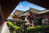 Ishiteji Temple in Matsuyama, Shikoku, Japan, Asia Photographic Print by Michael Runkel