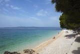 Beach, Brela, Dalmatian Coast, Croatia, Europe Photographic Print by John Miller