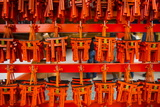 Souvenirs of the Endless Red Gates of Kyoto's Fushimi Inari Shrine, Kyoto, Japan, Asia Photographic Print by Michael Runkel