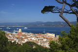 View over Old Town, Saint-Tropez, Var, Provence-Alpes-Cote D'Azur, France, Mediterranean, Europe Photographic Print by Stuart Black