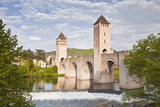 Pont Valentre in the City of Cahors, Lot, France, Europe Photographic Print by Julian Elliott