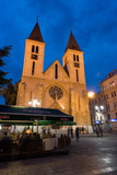 Sarajevo Catholic Church, Sarajevo, Bosnia and Herzegovina, Europe Photographic Print by Gavin Hellier
