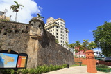 Paseo De La Princesa in Old San Juan, Puerto Rico, West Indies, Caribbean, Central America Photographic Print by Richard Cummins
