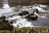Redmire Force on the River Ure Photographic Print by Mark Sunderland