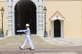 Palace Guard, Palais Princier, Monaco-Ville, Monaco, Europe Photographic Print by Amanda Hall