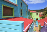 Wharfside Village in Cruz Bay Photographic Print by Richard Cummins