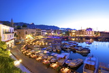 Kyrenia Harbour at Dusk, Kyrenia, North Cyprus, Cyprus, Mediterranean, Europe Photographic Print by Neil Farrin